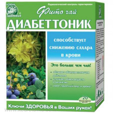 Фиточай №62 «Фитодиабеттоник» 20 ф/п х 1,5 г